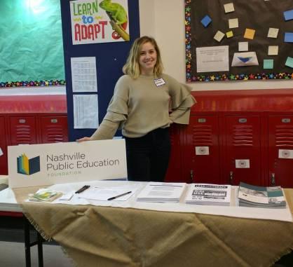 Nashville Public Education Foundation connecting with teacher-leaders!
