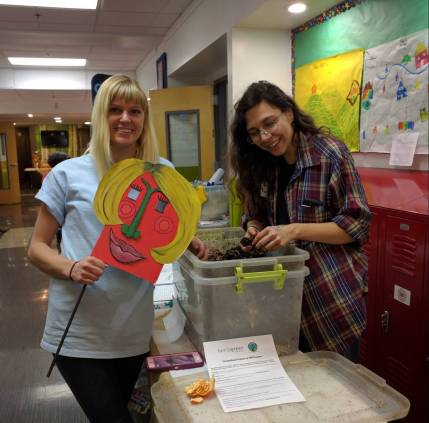 Turnip Green Creative Reuse Connecting with teachers!